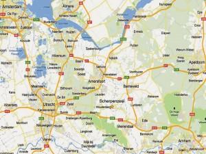 Scherpenzeel midden in Nederland